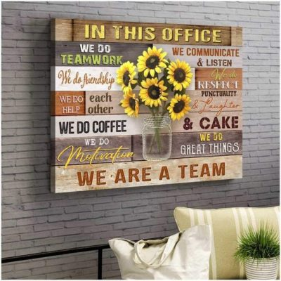 Zalooo Best Canvas Gifts In This Office Wall Art Farmhouse Decor